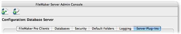 Database Server Config