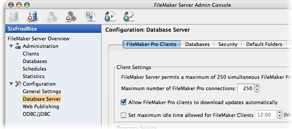 You enable AutoUpdate in FileMaker Server in the FileMaker Pro Clients tab of the Database Server screen.