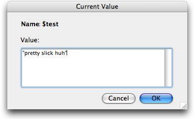 Edit Variable Dialog
