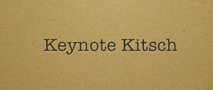 Keynote's themes, silliness aside, are rich and attractive.