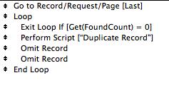 Duplicate Loop Script